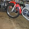 GT125 ブレーキ清掃&タンクの錆取り