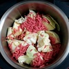 ホットクックでキャベツカレーのレシピに挑戦!材料3つでキャベツ600gを大量消費できました。