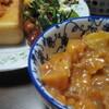 柿ジャムを作って、トーストで食べてみた。