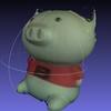 3Dスキャナーを自作する ⑤取得データの編集