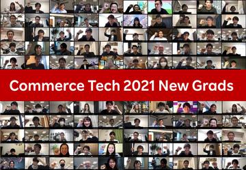 Commerce Techに新卒56名入社!コロナ禍におけるセレモニーのあり方