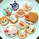 アンパンマンとパン工場\(*⌒0⌒)b♪チョコレートケーキとアンパンマンのアイシングクッキー♪♪