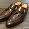 クールビズおすすめ革靴 マドラスM360タッセルスリッポン鏡面磨き
