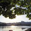【プラハ】ブルダヴァ川に沈む【夕日】