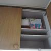 台所の棚の片付けとタケノコご飯