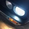 BMW E30 【メンテナンスFile10】  ヘッドライトバルブの交換。