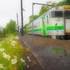 札沼線 末端区間廃止から1年⑦ 新十津川駅を発車します^^