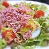 シュレットビーフの彩りサラダ