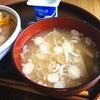 レンジで作るえのきのお味噌汁
