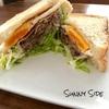 【北区】Sunny Side。センスが光る、ボリューム満点サンドイッチ。