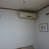 リビングのエアコンを買い替えました。