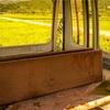 【一日一枚写真】捨てられたゴンドラ④【一眼レフ】