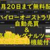 【7月20日まで無料配布】ハイローオーストラリア自動売買&高勝率シグナルツール(バックテスト機能付き)