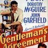 "<span itemprop=""headline"">映画「紳士協定」(1947、日本公開1987)グレゴリー・ペック主演。</span>"