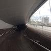 スケールの大きさに驚く 横浜・大さん橋