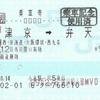 大津京→弁天町 乗車券