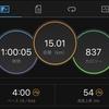 12/22 マラソン練習 15キロペース走
