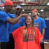 World's Greatest Shave with Sydney Kings - Aimee Downing