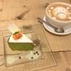 ハロウィン気分高まる♪抹茶ホワイトチョコレート(cafe accueil @恵比寿)