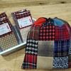 ウールのオリジナル生地セットで作る巾着