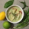 イオンで手に入る食材で手作りペーストから作る!魔女風すり鉢グリーンカレーの作り方!