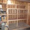 穀物倉庫に整理棚を作成