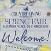 雑誌COUNTRY LIVINGの Spring Fairで予想以上に満足