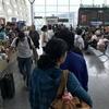 ダナン空港 15分遅れでベドジェットVJ631便ホーチミン行きに搭乗