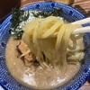 福岡天神、麺や兼虎で濃厚つけ麺を食べたおじさん