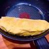 フライパンで卵焼きをつくる