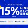 LINEトラベルで最大15%ポイントバックキャンペーン!でも,ソラチカルートには間に合いません…