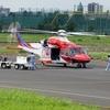2018年7月27日(金) JA17AR「さっぽろ2」 調布飛行場