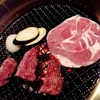 北海道 東川町 焼肉・炉端居酒屋 大将 / タレに大根おろしを入れる焼肉