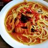 煮込みスープスパゲッティ