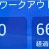 仮想インターバル走(4分×5本)