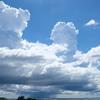 沖縄もくもく積乱雲