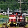 福島臨海鉄道へ!その3 DD561の入れ替え作業の撮影
