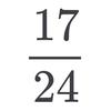 2^n+1を割り切る素数の密度は17/24
