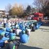 避難訓練・少年消防クラブ大会です