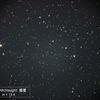 つかの間の星空に彗星 ふたつ 260P McNaught