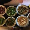 ある中国の女友達との最後の晩餐。