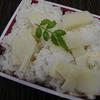 タケノコご飯 筍 bamboo shoot