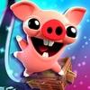 「ベーコンエスケープ2」豚がトロッコで疾走するゲームをプレイ