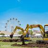 【建機イベント】第7回よこすか建設フェスタはメルヘンの国か?!【2018年】【建機イベント】【横須賀】【ソレイユの丘】【行って来た】