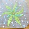 プラバン アクリル絵の具で水彩っぽく着色する方法。プラバンはフロスト加工すべし!