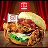 ドムドムハンバーガー「丸ごとカニバーガー」と「ビッグドムチーズ」を食べた感想【福岡 笹丘店】