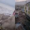 インドネシア・スラウェシ島でのM7.5の地震・津波で防災当局はこれまでに384人が死亡したと発表!パル市を襲った数mの津波は津波警報を解除してすぐ到達しており、これは人災だろwww