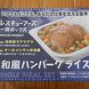 「ごごナマ 知っトク!らいふ」で紹介された災害食に挑戦! 【レスキューフーズ/和風ハンバーグライス】