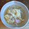 玉ねぎベーコンえのきかき玉スープ