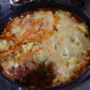 幸運な病のレシピ( 1388 )昼 :コテージパイ、浅場カレイ唐揚げ、鳥カツ、カボチャ煮付け